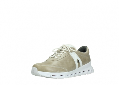 wolky chaussures a lacets 02050 nano 30381 cuir sable blanc_22
