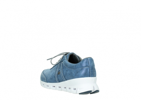 wolky lace up shoes 02050 nano 70800 blue leather_5