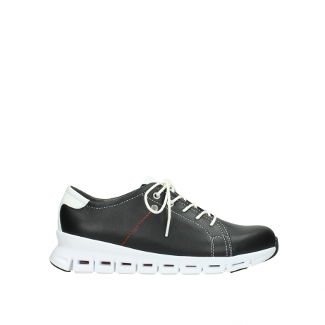 wolky sneakers 02051 mega 20000 black leather