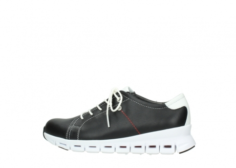 wolky sneakers 02051 mega 20000 black leather_2
