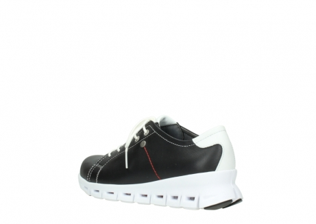 wolky sneakers 02051 mega 20000 black leather_4