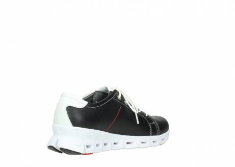 wolky sneakers 02051 mega 20000 black leather_10