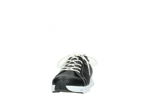 wolky sneakers 02051 mega 20000 black leather_20