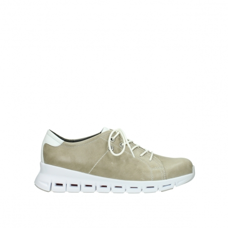 wolky sneakers 02051 mega 30381 sand weiss leder