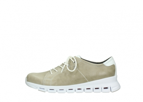 wolky sneakers 02051 mega 30381 sand weiss leder_1