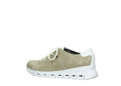wolky sneakers 02051 mega 30381 sand weiss leder_3