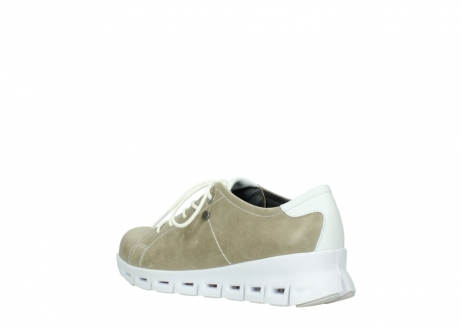 wolky sneakers 02051 mega 30381 sand weiss leder_4