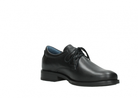 wolky lace up shoes 02180 santiago 31000 black leather_16