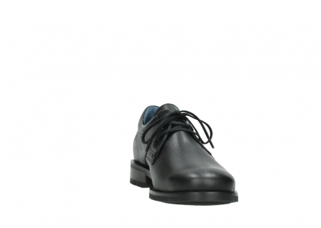 wolky lace up shoes 02180 santiago 31000 black leather_18