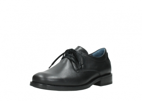 wolky lace up shoes 02180 santiago 31000 black leather_22