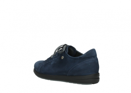wolky lace up shoes 02420 kinetic 13800 blue nubuckleather_4