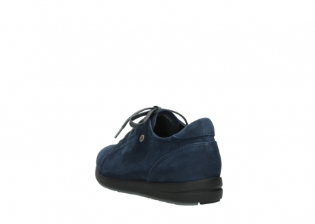 wolky lace up shoes 02420 kinetic 13800 blue nubuckleather_5