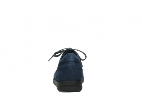 wolky lace up shoes 02420 kinetic 13800 blue nubuckleather_7