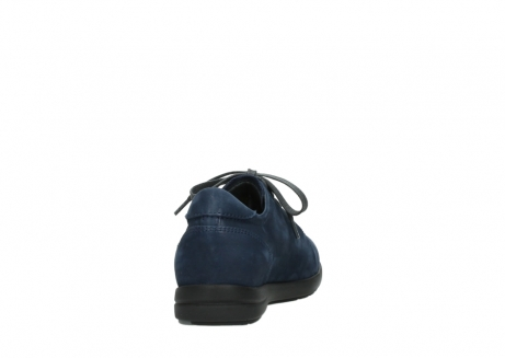 wolky lace up shoes 02420 kinetic 13800 blue nubuckleather_8