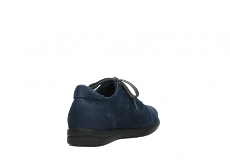 wolky lace up shoes 02420 kinetic 13800 blue nubuckleather_9