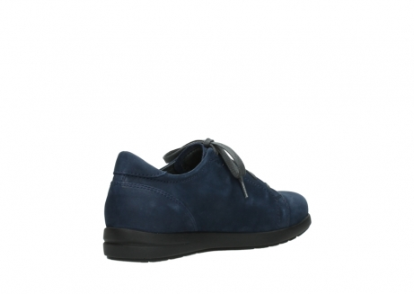 wolky lace up shoes 02420 kinetic 13800 blue nubuckleather_10