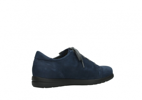 wolky lace up shoes 02420 kinetic 13800 blue nubuckleather_11