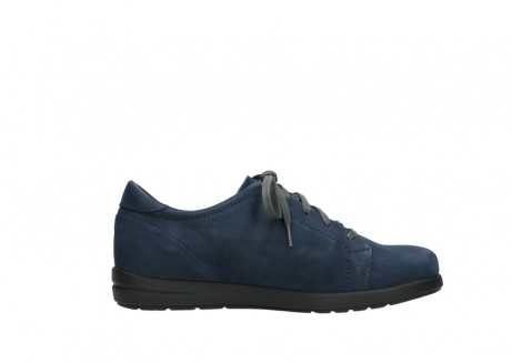 wolky lace up shoes 02420 kinetic 13800 blue nubuckleather_13