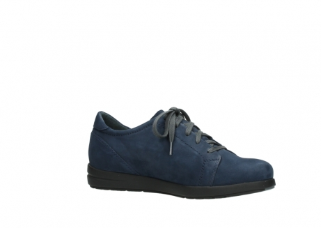 wolky lace up shoes 02420 kinetic 13800 blue nubuckleather_15