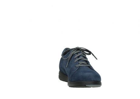 wolky lace up shoes 02420 kinetic 13800 blue nubuckleather_18