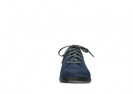 wolky lace up shoes 02420 kinetic 13800 blue nubuckleather_19