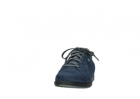 wolky lace up shoes 02420 kinetic 13800 blue nubuckleather_20