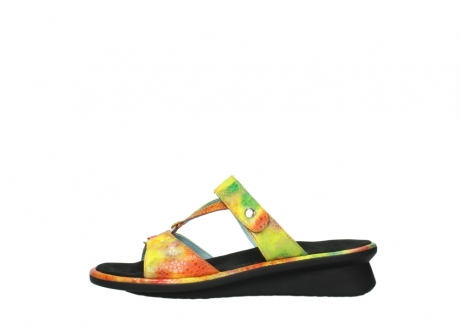wolky slippers 03307 isa 91990 yellow multi leather_1