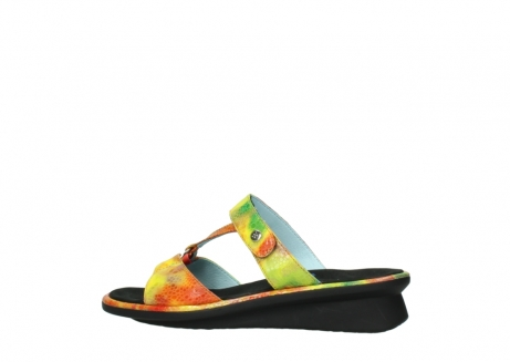 wolky slippers 03307 isa 91990 yellow multi leather_2