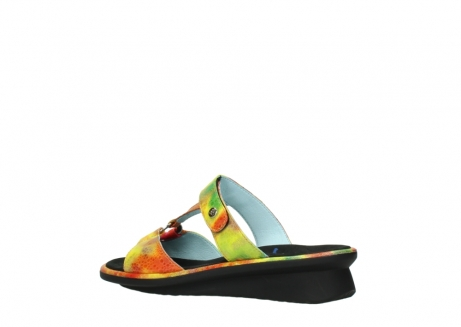 wolky slippers 03307 isa 91990 yellow multi leather_3