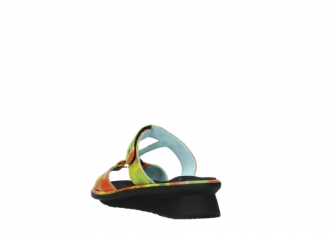 wolky slippers 03307 isa 91990 yellow multi leather_5