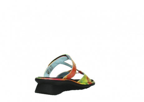 wolky slippers 03307 isa 91990 yellow multi leather_9
