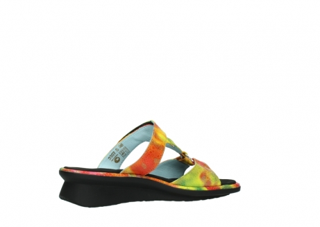 wolky slippers 03307 isa 91990 yellow multi leather_11