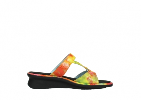 wolky slippers 03307 isa 91990 yellow multi leather_13