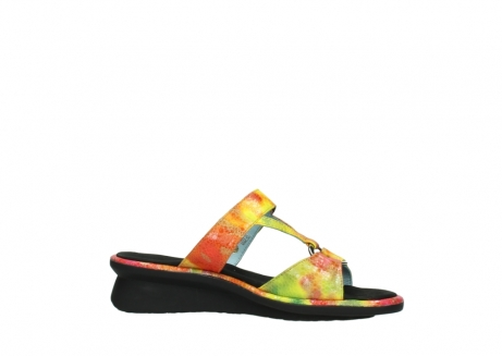 wolky slippers 03307 isa 91990 yellow multi leather_14