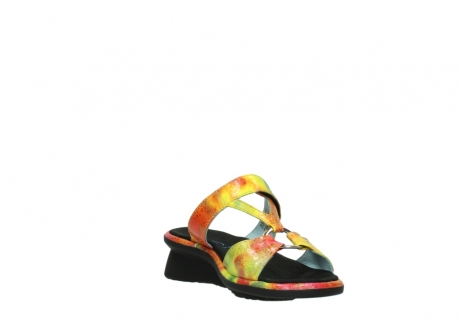 wolky slippers 03307 isa 91990 yellow multi leather_17