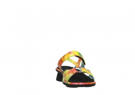 wolky slippers 03307 isa 91990 yellow multi leather_18
