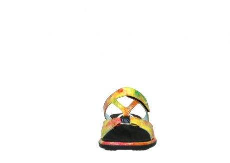 wolky slippers 03307 isa 91990 yellow multi leather_19