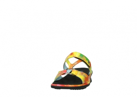 wolky slippers 03307 isa 91990 yellow multi leather_20