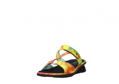 wolky slippers 03307 isa 91990 yellow multi leather_21