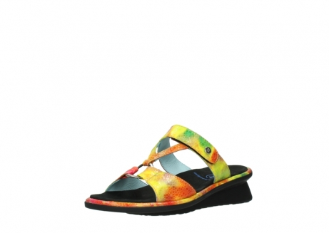 wolky slippers 03307 isa 91990 yellow multi leather_22