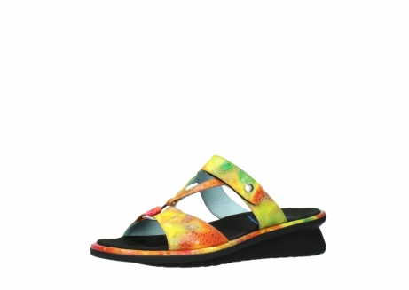 wolky slippers 03307 isa 91990 yellow multi leather_23