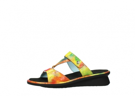 wolky slippers 03307 isa 91990 yellow multi leather_24