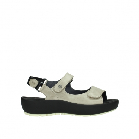 wolky sandalen 03325 rio 30150 taupe leder