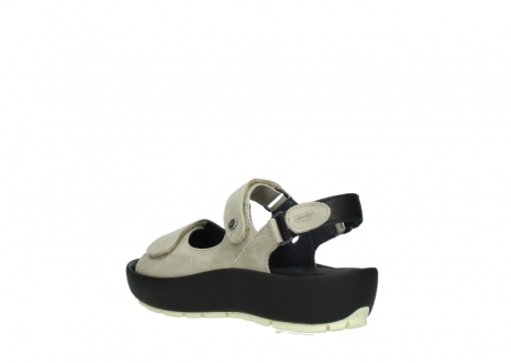 wolky sandalen 03325 rio 30150 taupe leder_4