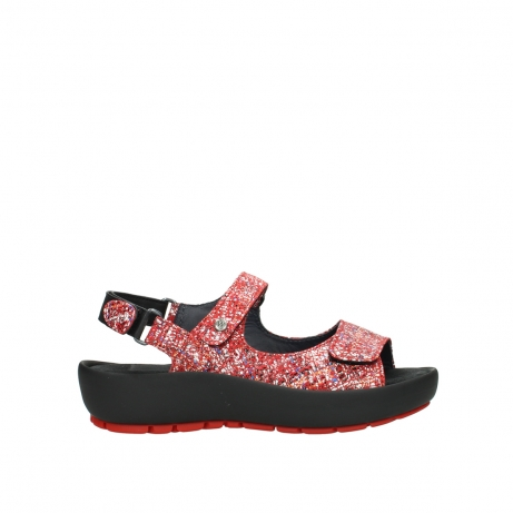 wolky sandalen 03325 rio 40950 rot multi suede