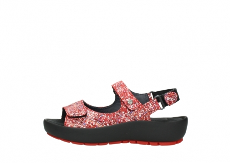 wolky sandalen 03325 rio 40950 rot multi suede_1