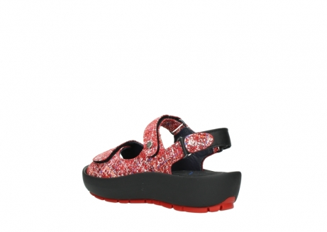 wolky sandalen 03325 rio 40950 rot multi suede_4