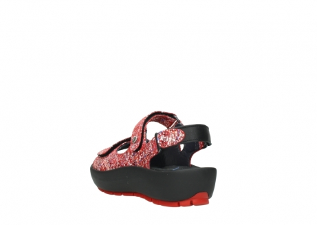 wolky sandalen 03325 rio 40950 rot multi suede_5