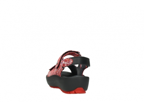 wolky sandalen 03325 rio 40950 rot multi suede_6