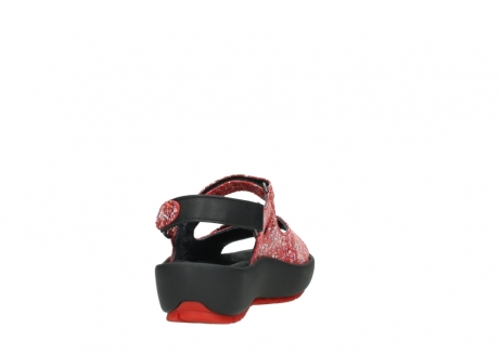 wolky sandalen 03325 rio 40950 rot multi suede_8